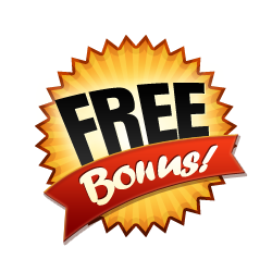 Free Bonus - Burst Badge Orange