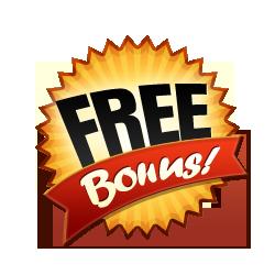 Free Bonus - Burst Badge Orange